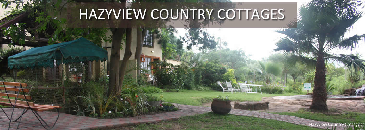 3 Star self catering accommodation in Hazyview